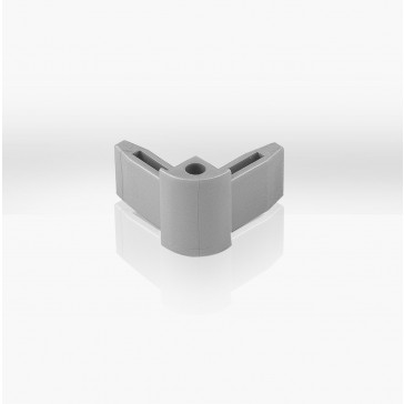Eckverbinder grau