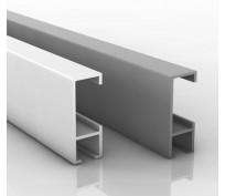 Schiene 1 Meter silber oder weiß